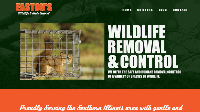Wildlife Control serving Murphysboro, IL