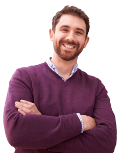 Good-natured man doesn't know much about website marketing